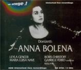 DONIZETTI - Ferro - Anna Bolena (Live Roma 7 - 4 - 1977) Live Roma 7 - 4 - 1977