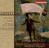 TIPPETT - Shelley - Concerto pour piano