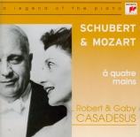 Schubert & Mozart à 4 mains