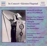 WAGNER - Flagstad - Der fliegende Holländer WWV.63 : extraits concert 9 - 10 - 1949