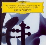 BEETHOVEN - Hagen Quartett - Quatuor à cordes n°11 op.95 'Quartetto seri