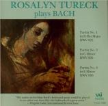BACH - Tureck - Partita pour claviern°1 en si bémol majeur BWV.825