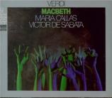 VERDI - De Sabata - Macbeth, opéra en quatre actes (version italienne) live Scala di Milano, 7 - 12 - 1952