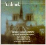 French Sonata for Cello and Piano Vol.1