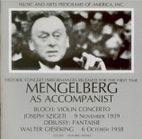 Mengelberg as accompanist