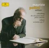 SCHOENBERG - Pollini - Pièces pour piano
