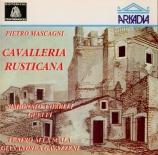 MASCAGNI - Gavazzeni - Cavalleria Rusticana live Scala di Milano, 7 - 12 - 1963