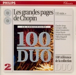 Les grandes pages de Chopin