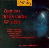 Quatuors pour flûte et cordes du XXe siècle
