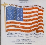 American Works for Flute and Orchestra