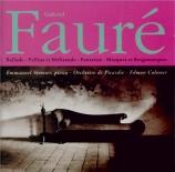 FAURE - Colomer - Ballade pour piano et orchestre en fa dièse majeur op