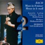 BACH - Karajan - Messe en si mineur, pour solistes, choeur et orchestre B