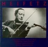 WIENIAWSKI - Heifetz - Concerto pour violon n°2 op.22