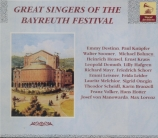 Great singers of the Bayreuth Festival