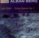BERG - Galimir String - Suite lyrique pour quatuor à cordes