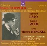 LALO - Coppola - Le roi d'Ys : ouverture (Vol.7) Vol.7