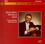 INDY - Sevilla - Thème varié, fugue et choralen pour piano op.85