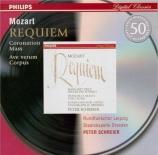 MOZART - Schreier - Requiem pour solistes, chœur et orchestre en ré mine