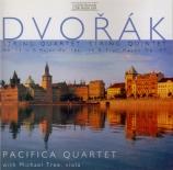 DVORAK - Pacifica Quarte - Quatuor à cordes n°13 op.106