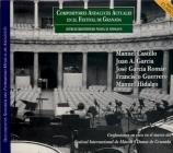 Compositores Andaluces Actuales en el Festival de Granada