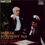 DVORAK - Neumann - Symphonie n°6 en ré majeur op.60 B.112 (import Japon) import Japon