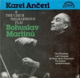 MARTINU - Ancerl - Les paraboles H.367