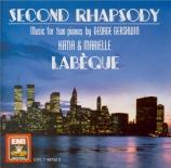 GERSHWIN - Labeque - Rhapsody n°2 pour piano et orchestre
