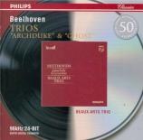 BEETHOVEN - Beaux Arts Trio - Trio avec piano op.97 'L'archiduc'