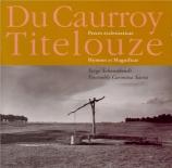 DU CAURROY - Schoonbroodt - Pièces pour orgue