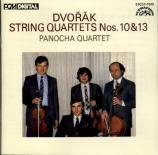 DVORAK - Panocha Quartet - Quatuor à cordes n°10 en mi bémol majeur op.5 import Japon
