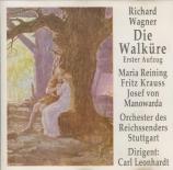 WAGNER - Leonhardt - Die Walküre WWV.86b : acte 1