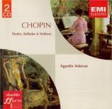 CHOPIN - Anievas - Douze études pour piano op.10
