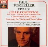 VIVALDI - Tortelier - Concerto pour violoncelle, cordes et b.c. en do ma