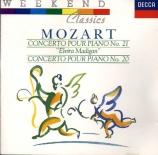 MOZART - Vered - Concerto pour piano et orchestre n°21 en do majeur K.46