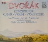 DVORAK - Neumann - Concerto pour piano op.33