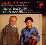 SIBELIUS - Rachlin - Concerto pour violon et orchestre op.47