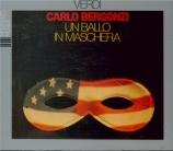 VERDI - De Fabritiis - Un ballo in maschera (Un bal masqué), opéra en tr live Bologne 28 - 11 - 61