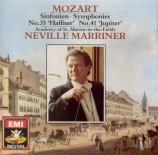 MOZART - Marriner - Symphonie n°41 en do majeur K.551 'Jupiter'