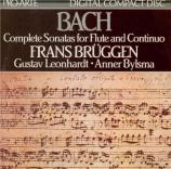 BACH - Brüggen - Sonate pour flûte (ou flûte à bec) et clavier en si min