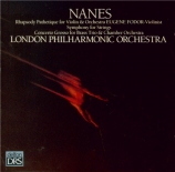 NANES - London Philharm - Rhapsody pathetique for violin and orchestra