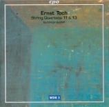 TOCH - Buchberger Quar - Quatuor à cordes n°11 op.34