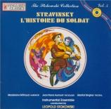 STRAVINSKY - Stokowski - L'histoire du soldat, pour trois récitants et s