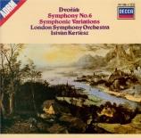 DVORAK - Kertesz - Symphonie n°6 op.60