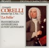 CORELLI - Brüggen - Sonate op.5 n°7 pour flûte à bec et basse continue