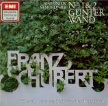 SCHUBERT - Wand - Symphonie n°1 en ré majeur D.82