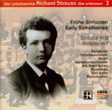 STRAUSS - Rickenbacher - Symphonie n°1 pour grand orchestre en ré mineur