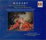 MOZART - Pommer - Apollo und Hyacinthus (Apollo et Hyacinthe), comédie l