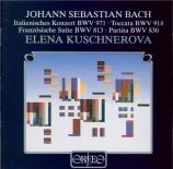 BACH - Kuschnerova - Concerto italien BWV 971