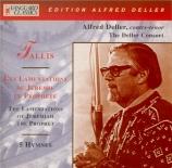 TALLIS - Deller - Lamentations de Jérémie