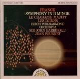 FRANCK - Barbirolli - Symphonie pour orchestre enrémineur FWV.48